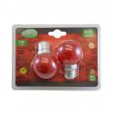 Ampoule LED B22 Bulb 1W Rouge