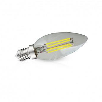 Ampoule Led E14 Filament Flamme  4W 4000K Blister x 3