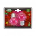 Ampoule LED B22 Bulb 1W Rose