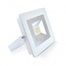 Projecteur LED Plat Blanc 30W 3000°K IP65
