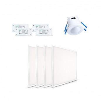 PACK DIMMABLE DALLES 600x600 + ALIMENTATION + VARIATEUR