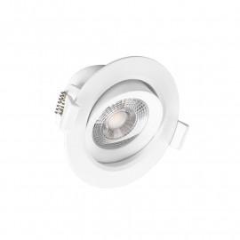 Spot LED Plafond 7 Watt COB 3000°K Boite