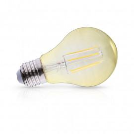 Ampoule LED E27 Bulb Filament Golden 8W 2700°K Dimmable