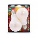 Ampoule LED E27 Bulb Filament Dépoli 10W 2700°K Blister x 2
