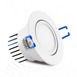 Spot LED Orientable avec Alimentation Electronique 5W 3000°K