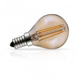 Ampoule LED E14 Filament Golden Bulb P45  4W 2700°K Boite