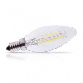 Ampoule LED E14 Filament Flamme 4W 495 LM Dimmable 2700°K