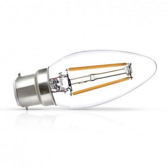 Ampoule LED B22 Filament 2W 3000K Pack x 2