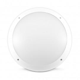 Plafonnier LED Hublot rond + Détecteur RF 30W Ø300mm 4000°K IP65