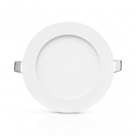 Plafonnier LED Blanc Ø120 6W 6000°K
