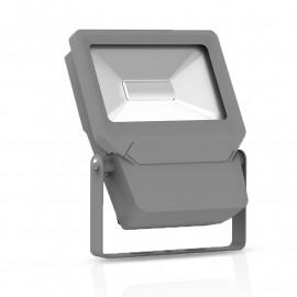 Projecteur Exterieur LED Plat Gris 50W 3000°K