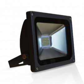 Projecteur Exterieur LED Gris Plat 20W 4000°K