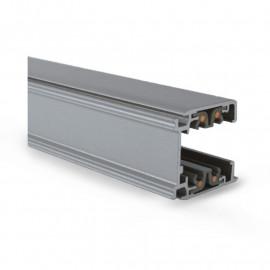 Rail Triphase pour Spots LED Gris 1 m