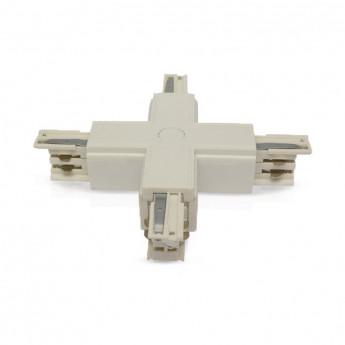Connecteur Triphase Croix X Blanc
