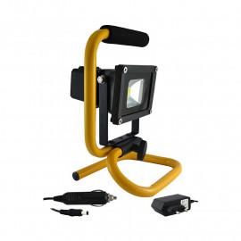 Projecteur Exterieur LED Portatif 10W 6000°K