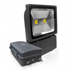 Projecteur Exterieur LED Gris 100W 6000°K + Batterie 3H