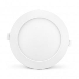 Plafonnier LED PC Blanc Ø170mm 12W 4000°K