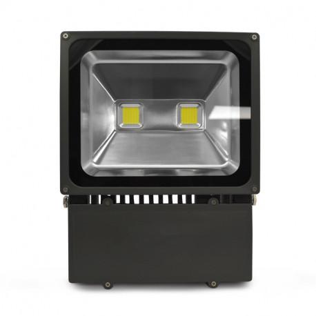 projecteur exterieur led gris 100w 6000 k. Black Bedroom Furniture Sets. Home Design Ideas