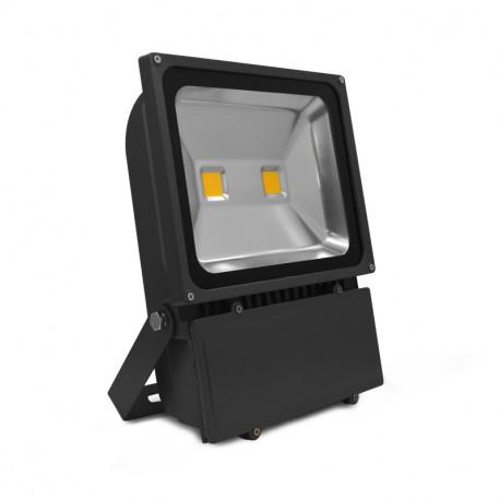 projecteur exterieur led gris 100w 4000 k. Black Bedroom Furniture Sets. Home Design Ideas