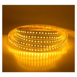 Bandeau LED 3000°K 5m 120 LED/m 60W 24V IP67 SILICONE