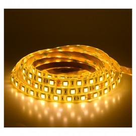 Bandeau LED 3000°K Blanc 5M 60 LEDS 14.4W/M