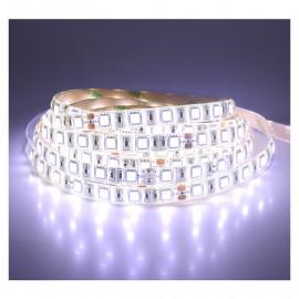 Bandeau LED 6000°K 5m 60 LED/m IP65 - 24V PU
