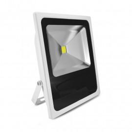 Projecteur Exterieur LED Plat Blanc 80W 6000°K