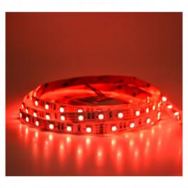 Bandeau LED Rouge 5 m 60 LED/m 14.4W/M IP20 12V