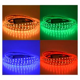 Bandeau LED RGB + white 5 m 60 LED/m 14.4W IP67