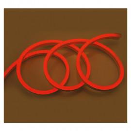 Bobine neon flex led Rouge 50 metres 230V ip65 18 x 11 mm