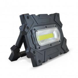 Projecteur Exterieur LED 10W 6000°K Portatif à piles