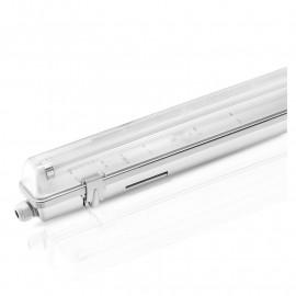 Boitier Etanche LED sans ballast pour 1 Tube T8 de 1500 mm 36w max
