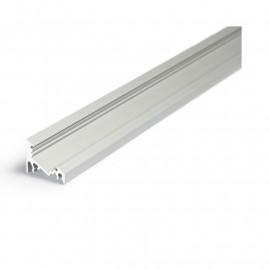 Profile Angle 30/60° Aluminium Anodisé 2m pour bandeaux LED