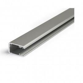 Profile Glass Line Aluminium Anodisé 2m pour bandeaux LED