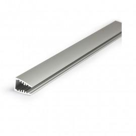 Profile Glass Aluminium Anodisé 2m pour bandeaux LED
