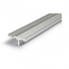 Profile Marche Aluminium Anodisé 2m pour bandeaux LED