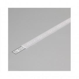 Diffuseur Profile 10.2mm Dépoli 2m pour bandeaux LED