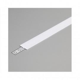 Diffuseur Profile 15.4mm Blanc 2m pour bandeaux LED
