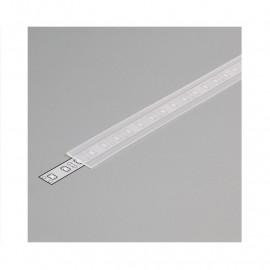 Diffuseur Profile 15.4mm Dépoli 1m pour bandeaux LED