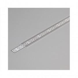 Diffuseur Profile 15.4mm Transparent 1m pour bandeaux LED