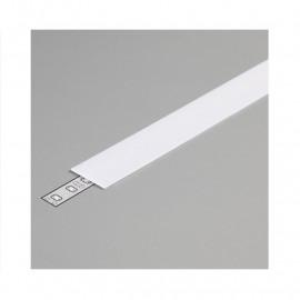 Diffuseur Profile 19.2mm Blanc 2m pour bandeaux LED