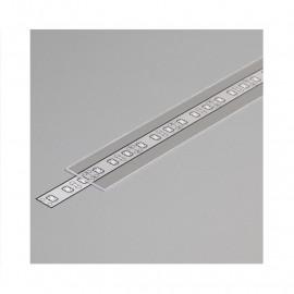 Diffuseur Profile 19.2mm Transparent 1m pour bandeaux LED