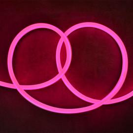 Bobine neon flex led Rose 50 m 230V ip65 27 x 15 mm