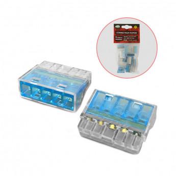 Connecteur automatique 5 fils rigides polybag 20pcs