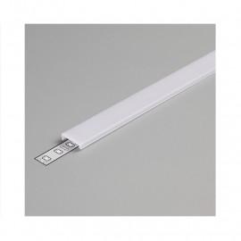 Diffuseur Clip Profile 15.4mm Blanc 1m pour bandeaux LED