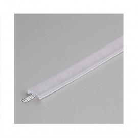 Diffuseur Clip Profile 17.6mm Transparent 1m pour bandeaux LED
