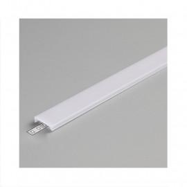 Diffuseur Clip Profile 17.6mm Blanc 2m pour bandeaux LED