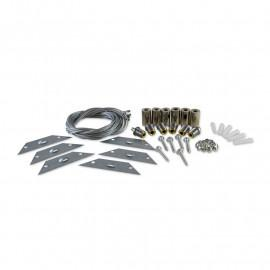 Kit de suspension pour Plafonniers 30 x 120 cm