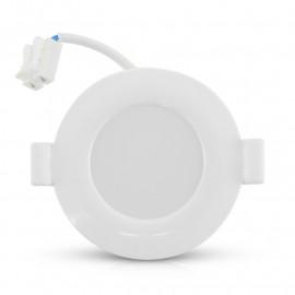 Plafonnier LED Blanc Ø85 8W 6000°K