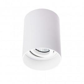 Spot Saillie GU10 Cylindre Blanc basse luminance